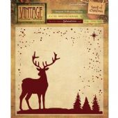 Crafters Companion - Spirit of Christmas 6x6 Embossing Folder - EF6-VC-SPIRIT